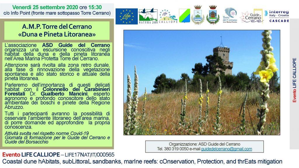 2020 – Escursione A.M.P. Torre del Cerrano
