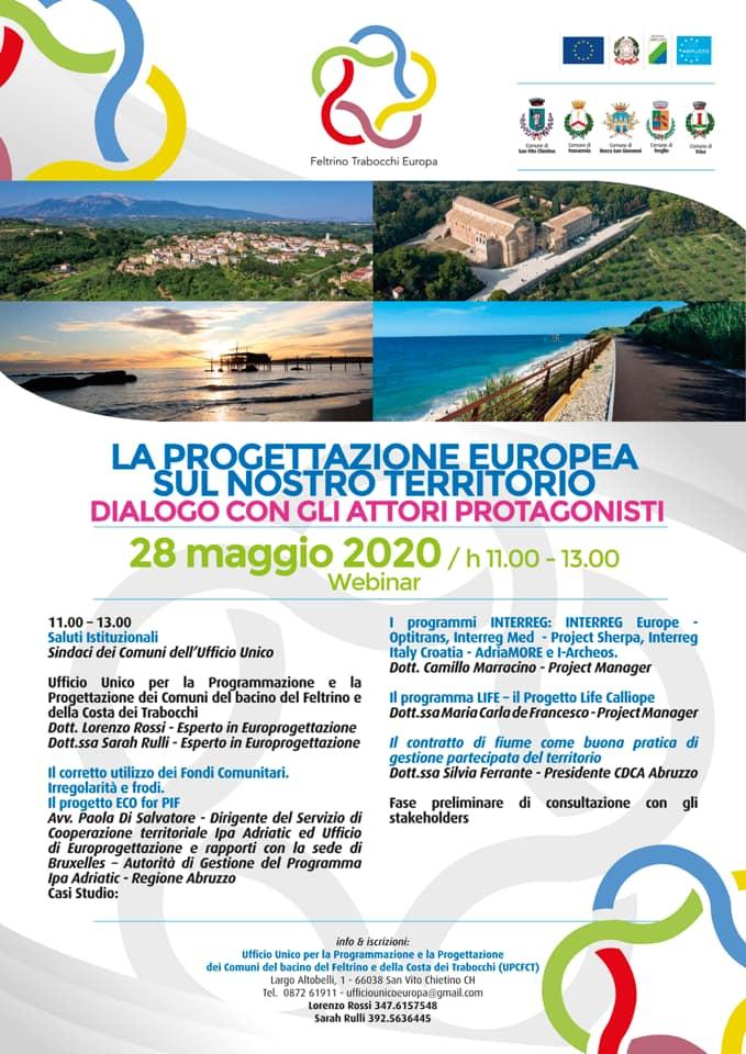 La Progettazione europea sul nostro territorio